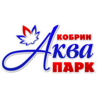 Логотип аквапарка Кобрина