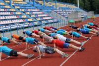 Тренирочные сборы Кобрин