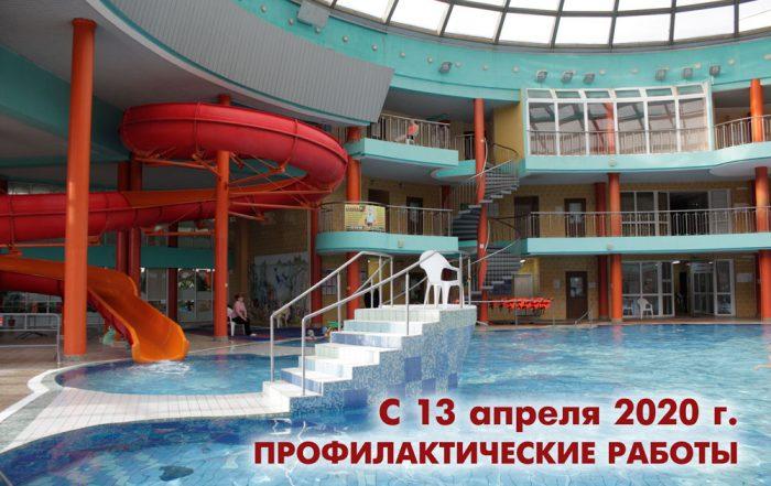 Бассейн с аттракционами Кобринский аквапарк